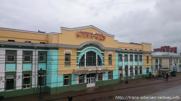 ウランウデ駅画像