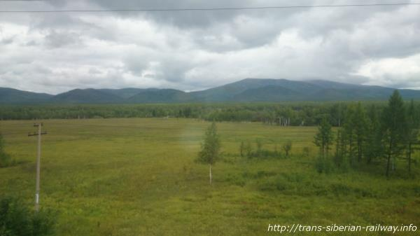 シベリア鉄道車窓画像